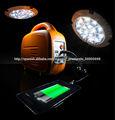 El kit portátil de Solar iluminación de 10W: Sistema de energía solar de múltiples funciones con la carga del USB