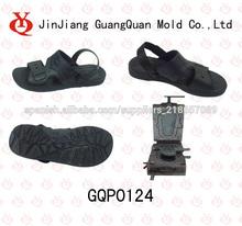 de cuero pvc de fundición del molde sandalia gqp0124