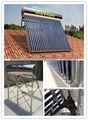 Intergrado sin presión del colector solar de acero para el hogar