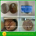 El atún enlatado en aceite / salmuera vegetal 170g/185g