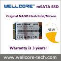 Wellcore ssd unidad de estado sólido mSATA 50mm mlc discossd garantía de 3 años