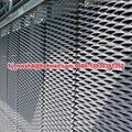 de metal de malla de alambre exterior fachadas