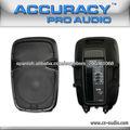 Profesional 2 Way USB altavoz/parlante activo profesional plastico con ecualizador de 5 bandas para la Etapa PML15AUQ-BT