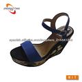 venta caliente cómodo cuña sandalias de la mujer