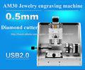 CNC Anneau machine de gravure, Bague aiguille de marquage-linge et machine à bijoux