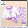 Bestgo 2014 coton cuerpo del bebé y trajes