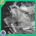 Anti-grieta PP malla de fibra de refuerzo del hormigón armado