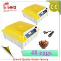 Alta calidad y Mini máquina de eclosión de los huevos de pollo automática en venta con el CE EW-48