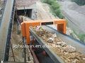 Series transportadora del detector de metales del cinturón de carbón, equipos de minería