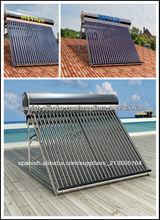 Tubos de vacío de acero inoxidable Calentador Solar de Agua