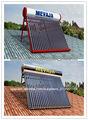 termosifón de tubos de vacío calentador de agua solar