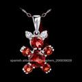 Venta al por mayor de joyería de moda hecha en china, joyeria medio mayoreo, sp0517g