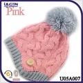 Gorros tejidos para niños con pom y botón gorros tejidos gorros para niños de invierno