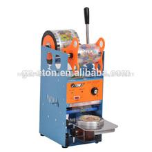 ET-D8 El mejor precio Alta Calidad Manual Plastic Copa sellado de la máquina,Milk Tea Cup Sellador,Copa de plástico sellado de