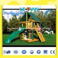 Lt-02072e de madera al aire libre de diapositivas para los niños