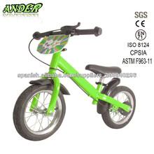 Nueva Aluminio niños aprenden moto