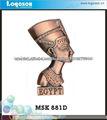 Artesanía de metal recuerdos imanes personalizados Egipto