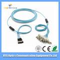 suministro de cable de conexión óptica fábrica sc / s / fc / st / lc fibra