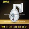 Sansung chip, 27x lente óptico resistente a la intemperie cámara domo PTZ de alta velocidad.