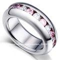 anillos de bodas de la joyería del acero inoxidable