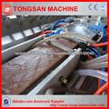 madera y plástico máquina de cartón compuesta máquina extrusora WPC