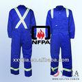 Ropa de trabajo retardante de fuego, fr hi sobretodo vis, ropa a prueba de fuego