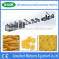 caliente de la venta automática fritos pellets de papa snacks que hace las máquinas