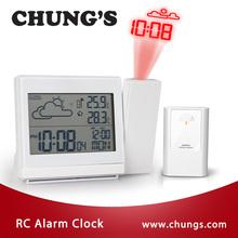 De Moda Reloj de Proyección con RC Inalámbrico Previsión Meteorológica