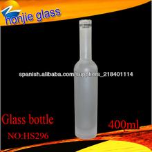 China venta caliente por encargo botella de vidrio