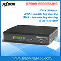 azbox azbox bravissimo ultra hd por satélite receptor de doble sintonizador sks libre
