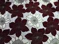 Muebles de diseño de la flor de la tela de la cortina de precio