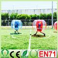 2014 vendiendo la parte superior de tamaño humano de fútbol inflable bola de parachoques