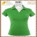 Camisa de polo de las mujeres de la promoción