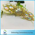 apliques de lentejuelas de cuentas para la decoración de la boda