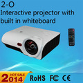 melhor interactive projetor 3000 lumens e lente grande angular com menor custo de transporte