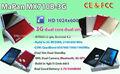 China,Teléfono de android tablet pc barato con ranura para tarjeta SIM GSM, MTK8312 Mapan barata de la tableta de 7 pulgadas