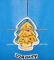 Árbol de Navidad ornamento colgante de cerámica