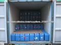 Materias primas químicas ácido acético glacial se utiliza en la industria textil