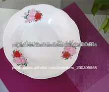 placa cerâmica, prato de porcelana quadrado, branco jantar prato de sobremesa