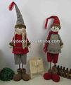 Muñeco de nieve de Santa del reno de Navidad Figurita