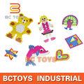 nuevo producto 2014 bricolaje plástico planchado Perlas Perler ,plástico rompecabezas como regalo para los niños. HY0021190
