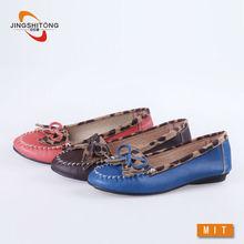 estampado de leopardo mujer piso ocio zapato