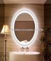 espejo del baño ovalada decorativa con luz