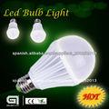 led bombilla de 100-240VAC E27/GU10 3w/5w/7w/9w/12w bombilla led de ahorro de energía