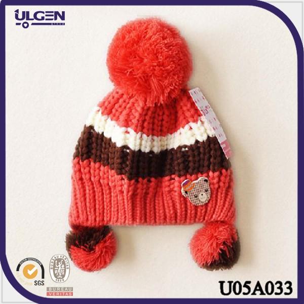 Gorro de invierno para ni os con pom gorros tejidas en crochet con