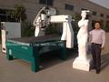 JCT1530L 4 ejes cnc espuma de corte máquina para 3d tallado eps espuma de poliestireno poliestireno