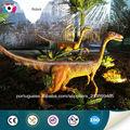 parque temático vívida escultura dinossauro