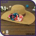 sombreros de verano de moda para mujeres sombreros paja