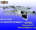 3200*375mm Escuadradora de carpintería/madera , maquina de corte MJ6132YII, con inclinacion 45°-90°