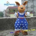 Ratte maskottchen kostüm, cartoon kostüm